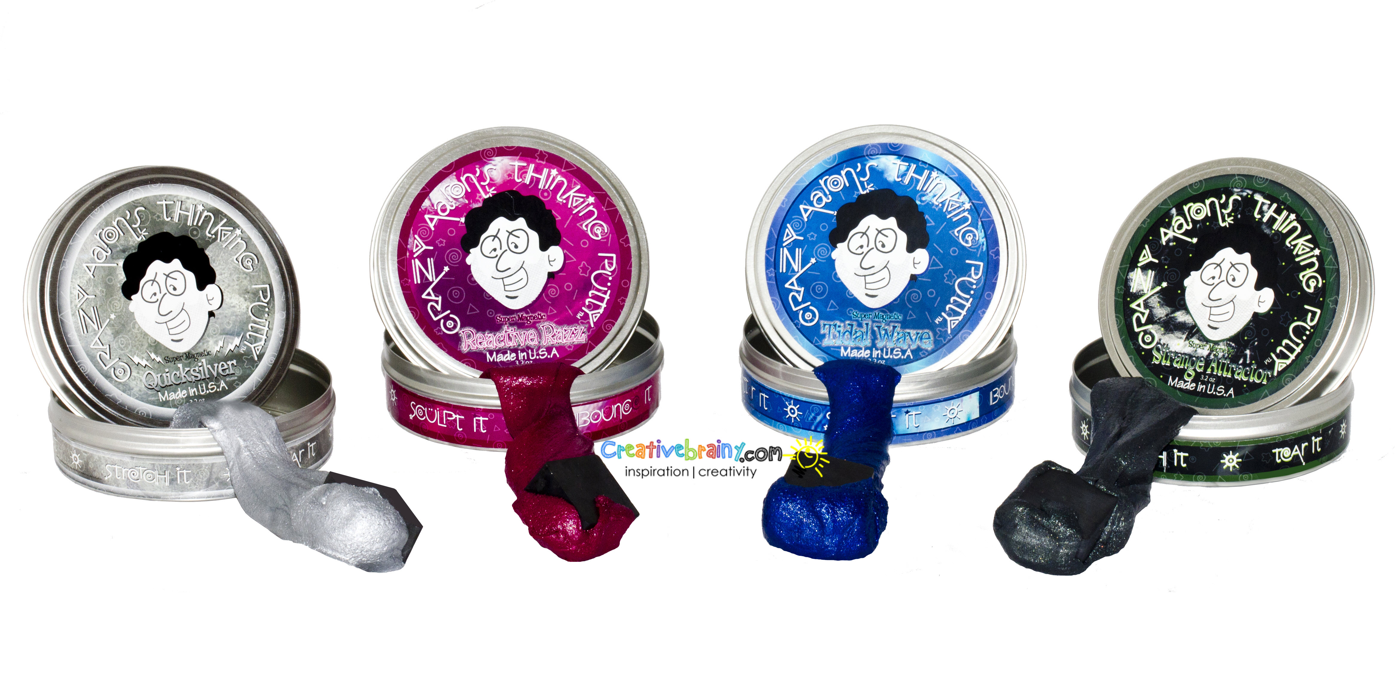 crazy aaron s putty super magnetic tidal wave creativebrainy
